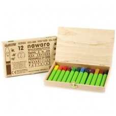 79023 wax-crayons-nawaro-wooden-box-fsc-certified-12-colors-1