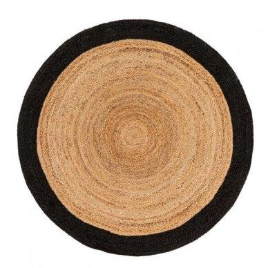 """Benuta kilimas iš džiuto ,,Brown/black"""""""