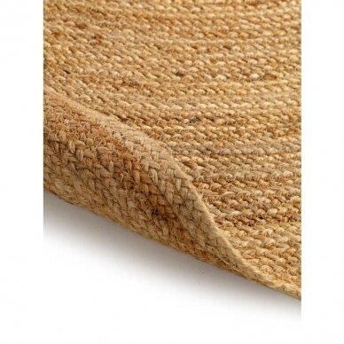 """Benuta kilimas iš džiuto ,,Light brown"""" 3"""