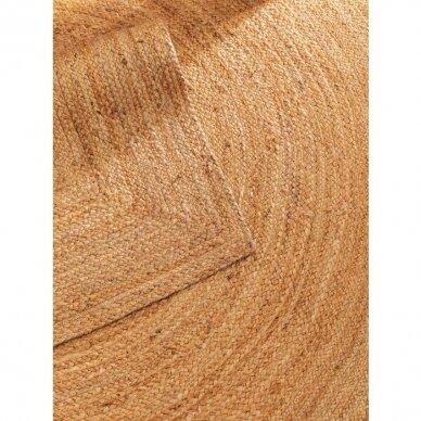 """Benuta kilimas iš džiuto ,,Light brown"""" 5"""