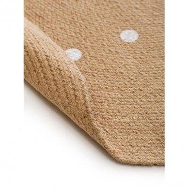 """Benuta kilimas iš džiuto ,,Pippa cream: oval"""" 4"""