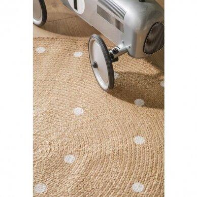 """Benuta kilimas iš džiuto ,,Pippa cream: oval"""""""