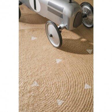 """Benuta kilimas iš džiuto ,,Pippa cream: triangles"""" 5"""