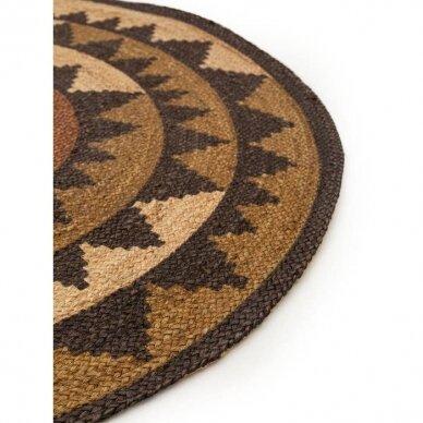 """Benuta kilimas iš džiuto ,,Sahara brown"""" 2"""