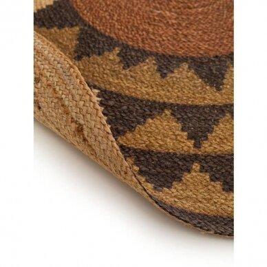 """Benuta kilimas iš džiuto ,,Sahara brown"""" 3"""
