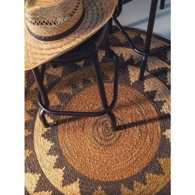 """Benuta kilimas iš džiuto ,,Sahara brown"""" 4"""