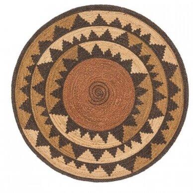 """Benuta kilimas iš džiuto ,,Sahara brown"""""""