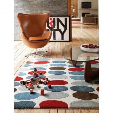 """Benuta kilimas iš vilnos ,,Multicolor"""" 4"""