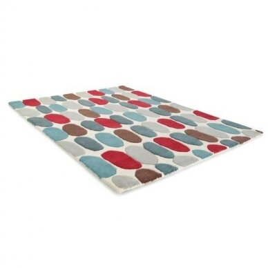 """Benuta kilimas iš vilnos ,,Multicolor"""" 2"""