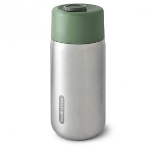"""Black and Blum gertuvė termosas ,,Insulated travel cup: olive"""" (340 ml)"""