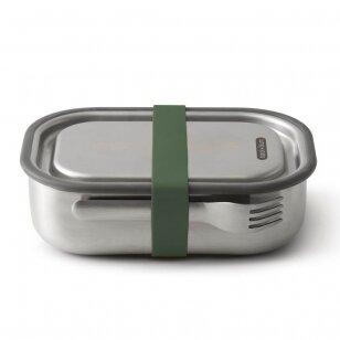 """Black and Blum pietų dėžutė ,,Olive"""" (large)"""