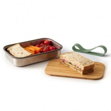 """Black and Blum sumuštinių dėžutė ,,Olive"""" (small) 5"""