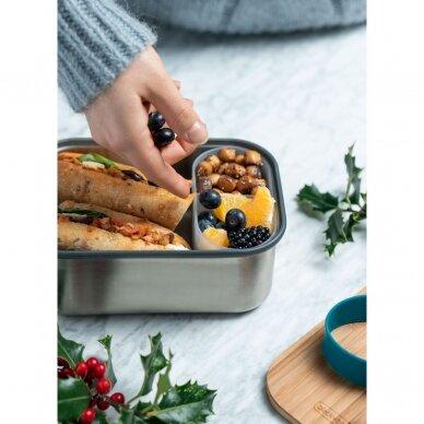 """Black and Blum sumuštinių dėžutė ,,Olive"""" (large) 4"""