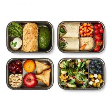 """Black and Blum sumuštinių dėžutė ,,Olive"""" (large) 8"""
