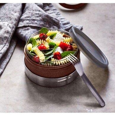 """Black+Blum maisto indelis iš stiklo su apsauga ,,Glass lunch bowl"""" 2"""