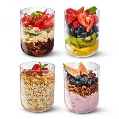 """Black+Blum maisto indelis iš stiklo su apsauga ,,Glass lunch pot"""" 5"""