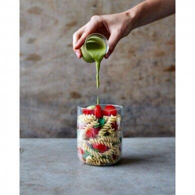 """Black+Blum maisto indelis iš stiklo su apsauga ,,Glass lunch pot"""" 3"""
