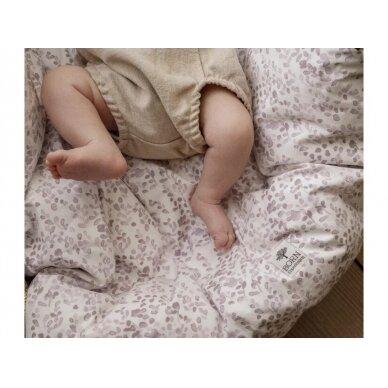 """Born Copenhagen patalynės užvalkalai kūdikiui ,,Leaves"""" (70x100 cm) 4"""