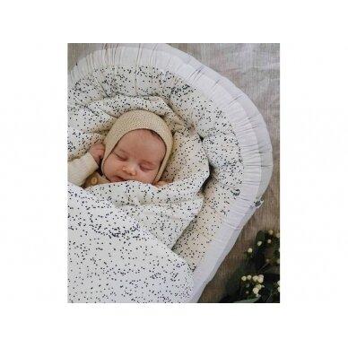 "Born Copenhagen patalynės užvalkalai kūdikiui ,,Midnight dust"" (70x100 cm) 2"