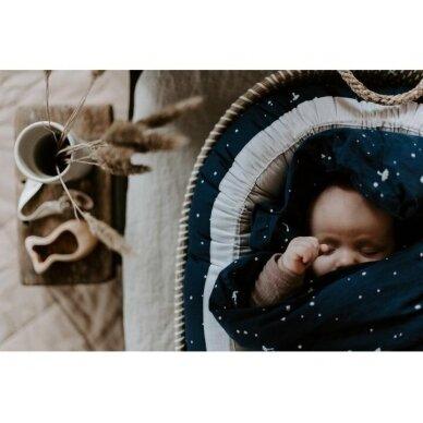 """Born Copenhagen patalynės užvalkalai ,,Night sky"""" (70x100 cm) 2"""