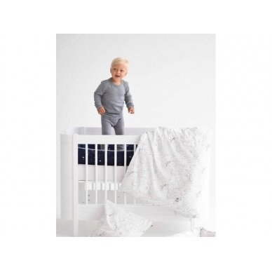 "Born Copenhagen patalynės užvalkalai vaikui ,,Midnight dust"" (EU dydis, 100x135 cm) 3"