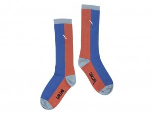 """CarlijnQ kojinės ,,Brown/blue"""""""