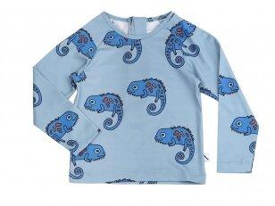 "CarlijnQ maudymosi marškinėliai ,,Chameleon""+UPF50"