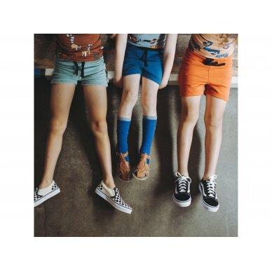 """CarlijnQ kojinės ,,Brown/blue"""" 2"""