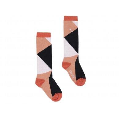 """CarlijnQ kojinės ,,Black/brown"""""""