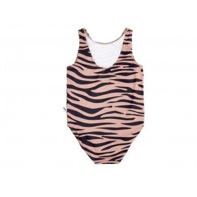 "CarlijnQ maudymosi kostiumėlis ,,Tiger""+UPF50 2"