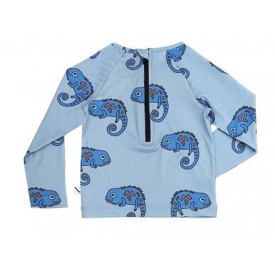 "CarlijnQ maudymosi marškinėliai ,,Chameleon""+UPF50 2"