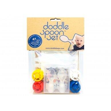 DoddleBags šaukšteliai maišeliams (2 vnt.) 4