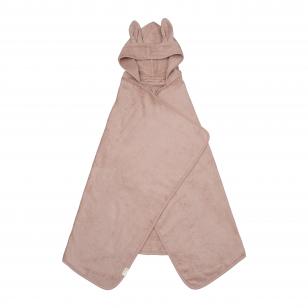 "Fabelab rankšluostis su gobtuvu vaikui ,,Bunny"" (73x120 cm)"