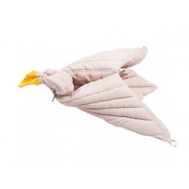 """Fabelab pledas ,,Dreamy Bird"""" (mauve) 3"""