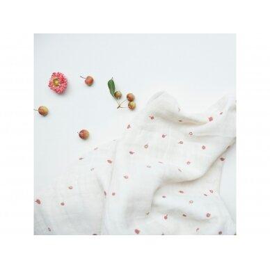 "Fabelab vystyklai ,,Wild berry"" (2 vnt.; 120x120 cm) 2"