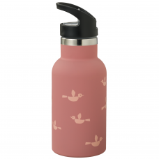 """Fresk gertuvė-termosas ,,Birds"""", su šiaudeliu (350 ml)"""