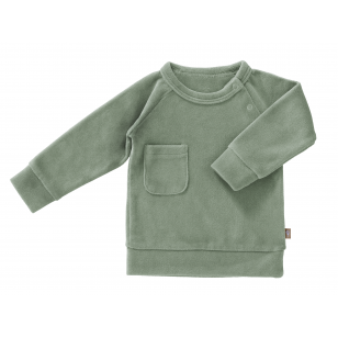 "Fresk megztinis ,,Forest green"""