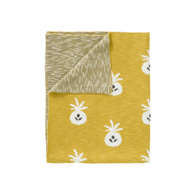 "Fresk megztas pledas ,,Pineapple"" (100x150 cm) 3"