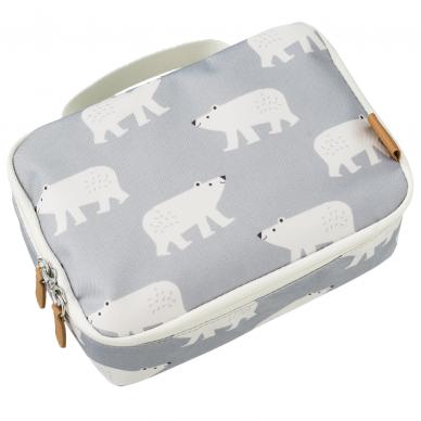"""Fresk pietų krepšelis su temperatūros izoliacija ,,Polar bear"""""""