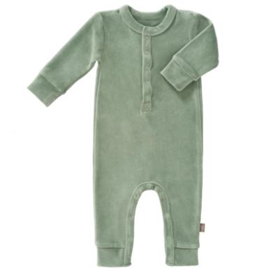 "Fresk pižama iš veliūro ,,Forest green"""