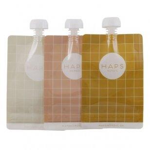 Haps Nordic daugkartiniai maišeliai skysčiams ,,Warm'' (3x190 ml)