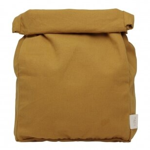 """Haps Nordic drobinis priešpiečių maišelis ,,Mustard"""""""