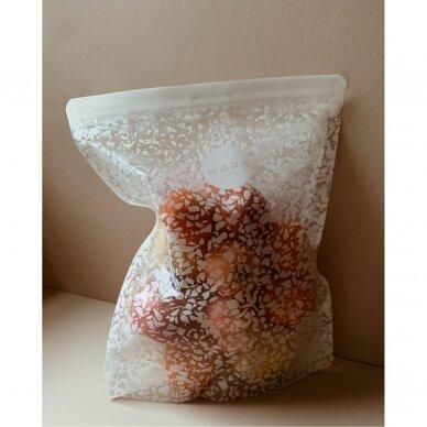 """Haps Nordic daugkartiniai užkandžių maišeliai ,,Terrazzo"""" (3x1000 ml) 3"""