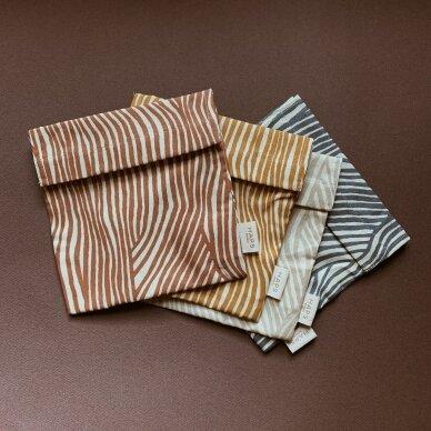 """Haps Nordic daugkartinis sumuštinių maišelis ,,Ocean terrazzo"""" 4"""