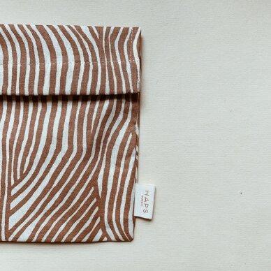 """Haps Nordic sumuštinių maišelis ,,Terracotta wave"""" 3"""