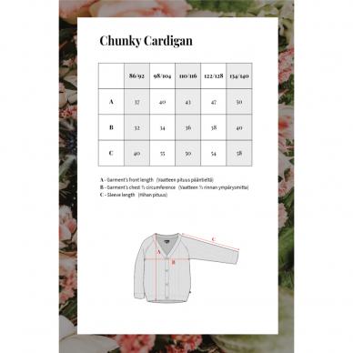 "Kaiko megztinis ,,Chunky cardigan"" 5"