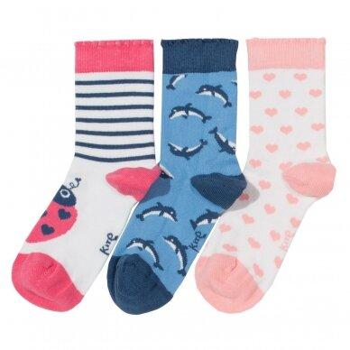 """Kite kojinių rinkinys ,,Dolphin"""" (3 poros)"""