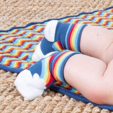 Kite kojinių rinkinys ,,Rainbow'' (2 poros) 2
