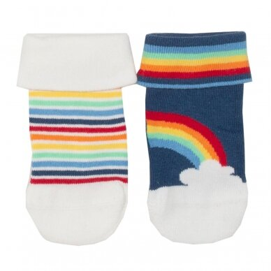 Kite kojinių rinkinys ,,Rainbow'' (2 poros)
