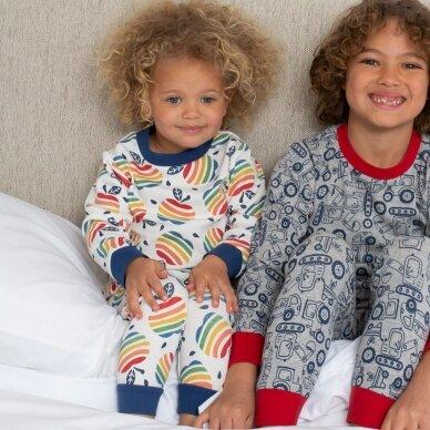 Kite pižama ,,Rainbow apple'' 3